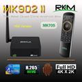 Rk3288 Quad Core A17 Dual Band Wifi Real 4Kx2K supported Android 4.4 TV Box MK902II+MK705