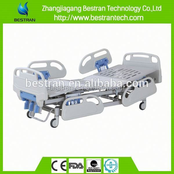 BT-AM101 ABS side rail central locking system 3-function buy hospital bed and furniture factories