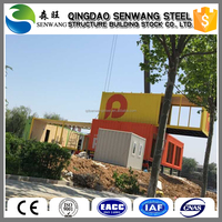 Sandwich Panel steel structure Container house with good quality