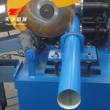 Profile stainless steel downspout round and square pipe making machine