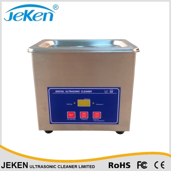 PS-06 (0.6L) stainless steel ultrasonic wave machine with heater
