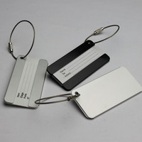 Metal Luggage Tag for Wholesale in china,Custom Design Blank Luggage Tag,Travel Luggage Tag for Travelling or business trip