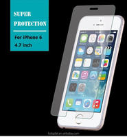 QWD factory lowest price 0.3mm 2.5D anti-scratch premium screen saver for iphone 6s glass screen protector