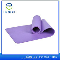 3/5-Inch Thick 71-Inch Long NBR Comfort Foam Yoga Mat for Exercise, Yoga, and Pilates