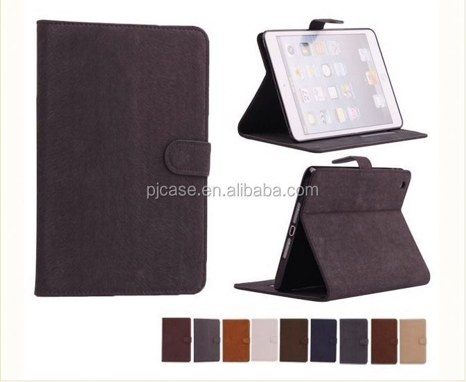 new product flip cover case for IPAD5 ,leather case for IPAD5 with holder,for IPAD5 0 case