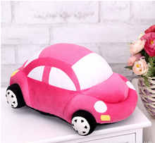Cute Small Car and Motorcycle Stuffed Plush Toys For Crane Machines