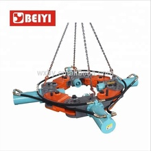 CE approved backhoe spare parts hydraulic round pile breaker