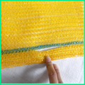 small HDPE raschel mesh bag for packing orange fruit with handle