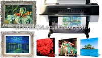 380g eco solvent cotton inkjet canvas