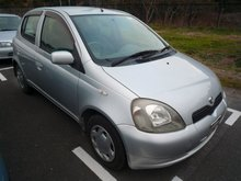 1999 Toyota Vitz used car Steering: Right 23352k