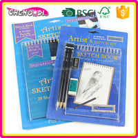 Fashion Item classic sketch notebook, cheap drawing book, China sketch