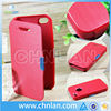 Brand New Fashion for iPhone 5 5S 5G Hard Back Cover With Magnetic Flip Leather Phone Case