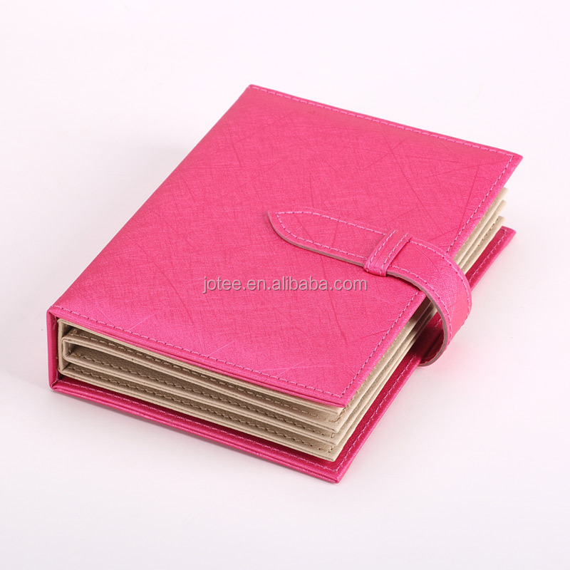 Custom book type box for earrings book display holder for ring Leather book type jewelry gift box wholesale