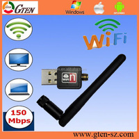 OEM logo 150Mbps ralink rt5370 usb wifi adapter 802.11n wlan network card