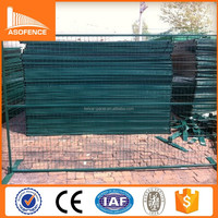 ISO9001 certification powder painted galvanized temporary yard fence