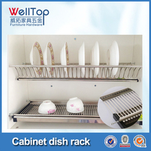 Stainless steel hanging wire dish rack VT-09.002