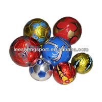 Hot!!! Shiny laser colorful machine sew cheaper promotion fooball
