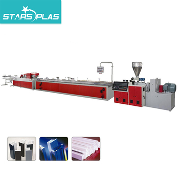 PVC Profile Window and Door Frames Extrusion Machine