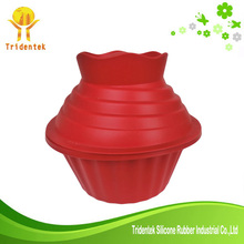 Jumbo Giant cupcake mold house shaped silicone cake pan