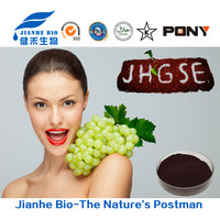 Food,cosmetic,medicine grade Pure Proanthocyanidins 95% Grape Seed extract OPC, Natural grape seed p.e.