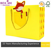 World-Famous Yellow Rectangle Bag Company