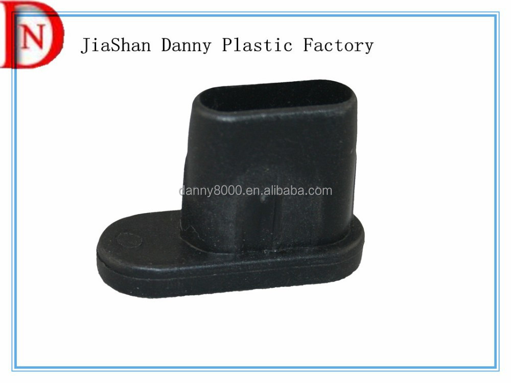 Supermarket shelf foot furniture plastic end caps(DN-02086)