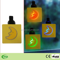 New polyresin moon led window lights solar night light