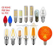 T6 T7 T20 G40 G50 S6 S8 C7 E12 LED Bulb for Christmas decoration, sign, picture, refrigerator bulb