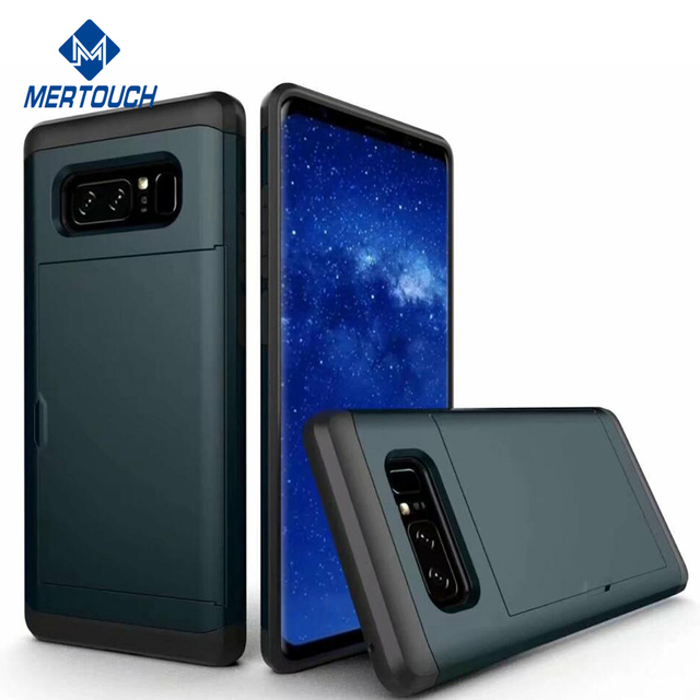 for Samsung Note 8 case , Resistant Protective Shell Wallet Cover Shockproof Rubber Bumper Case for galaxy Note 8