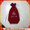 High Quality Red Wholesale Santa Sack Bag With Drawstring