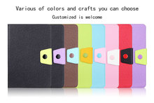 Leather material hot sale for ipad mini 4 case