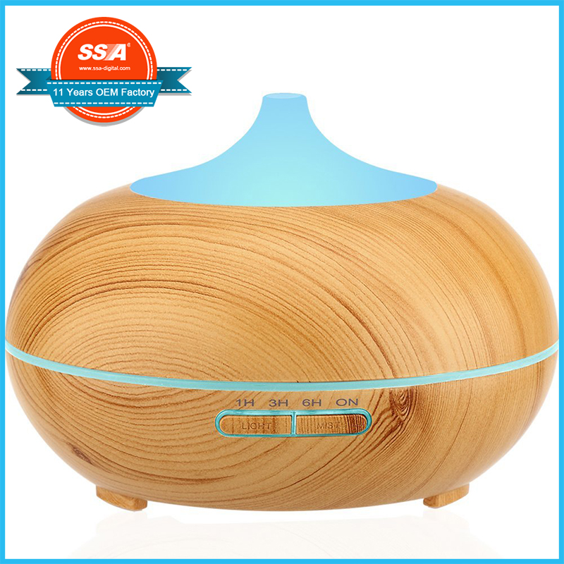 Battery operated humidifier ultrasonic scent mist cordless battery diffuser for yoga baby care