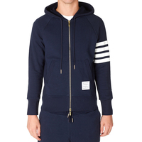 high end combed cotton custom fleece tracksuit