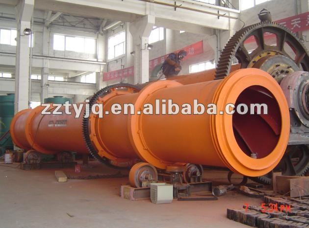 China TYM brand professional coal powder cylinder dryer