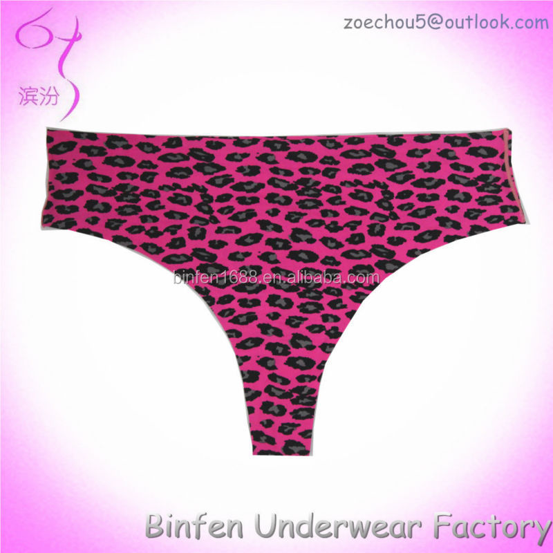2015 Animal Print Hot Sexy Underwear For Women <strong>G</strong> string Thong