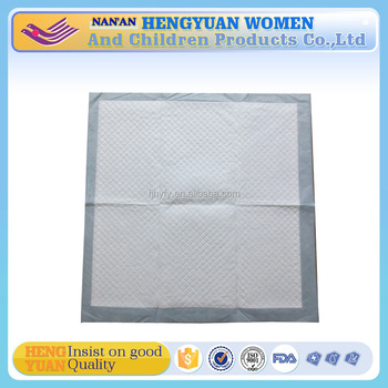 Green disposable mattress,disposable underpads use in hospital
