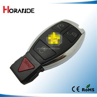 Remote control for Mercedes benz 3+1 PANIC button smart key 315mhz NEC chip mercedes benz nec key programmer