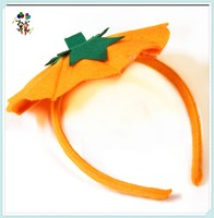 Kids Unisex Wild Orange Pumpkin Halloween Party Headbands HPC-0776