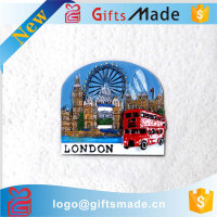 Promotional Custom LONDON UK Souvenir Resin Fridge Magnets