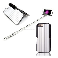 Wholesales factory price multifunctional extendable selfie stick phone case