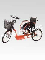 foldable push-pull adult tricycles & hospital tricycle D-93