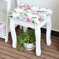 Wood Decorative Benches with Cushion