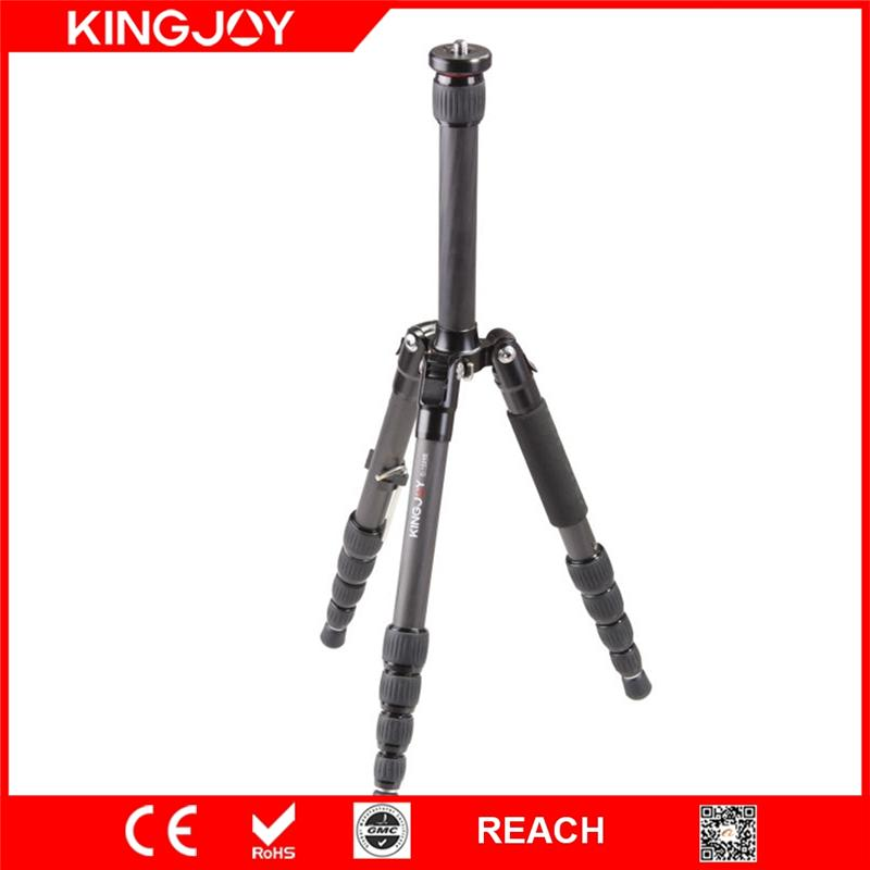 Kingjoy C-1229B carbon fiber colorful camera photo tripod from professional tripod manufacturer