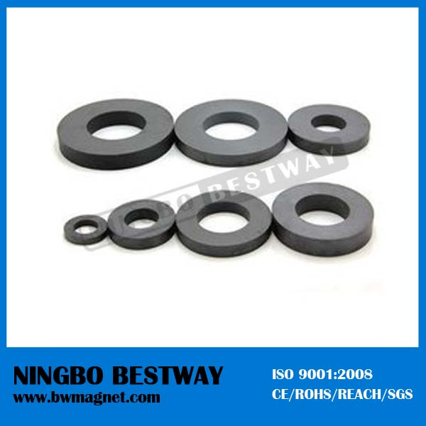 Fully stocked OEM all type strong power ceramic magnets ring