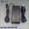 Universal 42V 2A electric scooter charger with UL CUL CE FCC CB approved