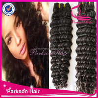 Unprocessed Raw Malaysian Virgin Deep Wave Hair New Design and Wholesale Price Malaysian Human Hair Extensions