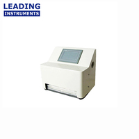 Touch screen heat seal strength tester for plastic packages