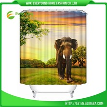 Hot Sale All Kinds Of Direct Price Map Shower Curtain