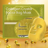 Moisturizing Repair Korea 24k Gold Collagen Crystal Beauty Face Mask