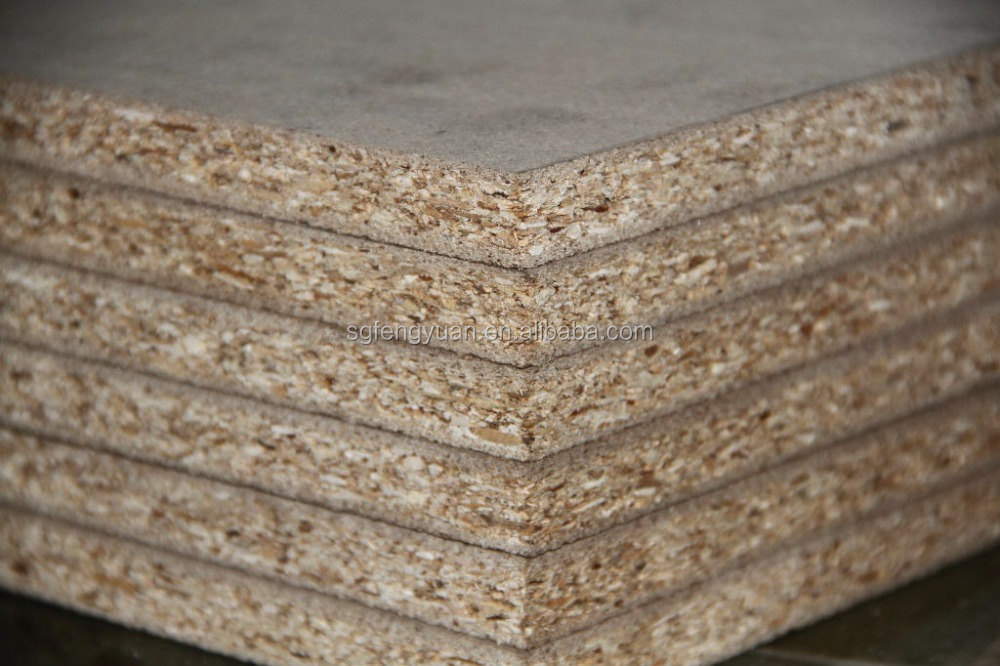 furniture and decoration particle board/chipboard prices from china factory